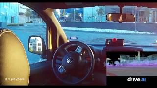 安全とわかっていてもなんだかちょっと怖い!完全自動運転車の走行動画(運転席視点)