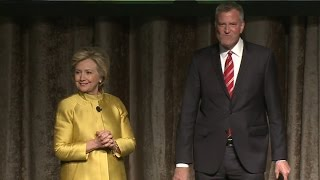 No one's laughing at Hillary Clinton and Bill de Blasio's racist 'joke'