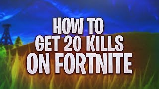 How to get 20 kills on Fortnite (Intense Gameplay)