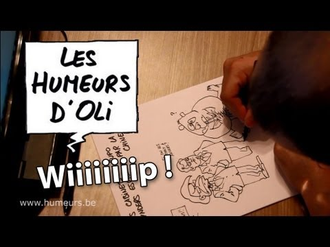 Les Humeurs d'Oli - Work in progress - Dessin de presse