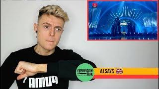 Denmark |  Eurovision 2018 Reaction Video | Rasmussen - Higher Ground