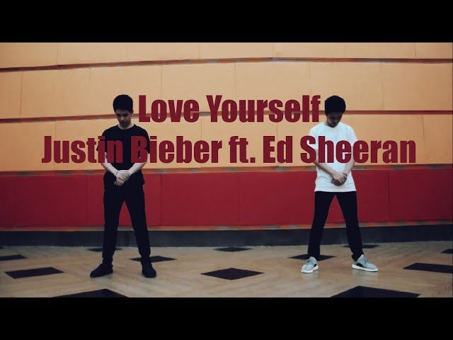 Justin Bieber- Love Yourself Dance Choreography By Nikko and Mikko