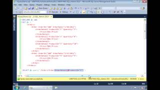 SQL Server 2012 - Using XQuery to Query XML Data