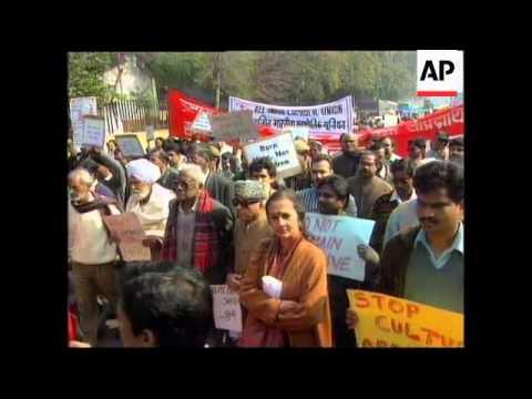 INDIA: 51ST ANNIVERSARY OF MAHATMA GANDHI DEATH