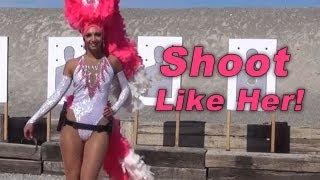 Shoot Like This Woman | Defensive Handgun Training | Las Vegas Show Girl | Front Sight thumbnail