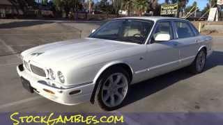 Jaguar XJR Supercharged 4.0L V8 Start Up & Test Drive 1 Owner Sports Sedan Video #2