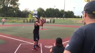 Wiffleball Game: Kids vs Parents
