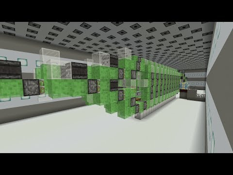 Minecraft Submarine Functional 2-Directional  - with dry dock
