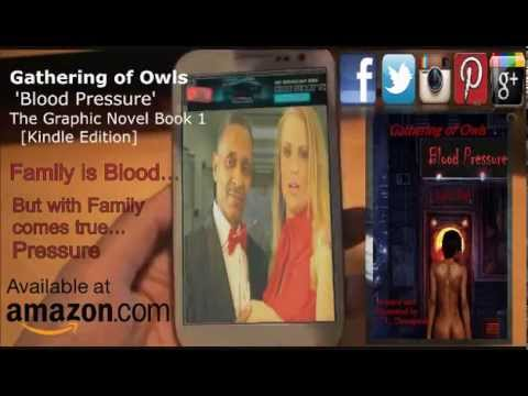 Gathering of Owls Blood Pressure Graphic Novel-Amazon kindle