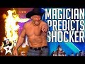 Mind Magician Brings Judges Thoughts To Life on Britain's Got Talent | Magicians Got Talent