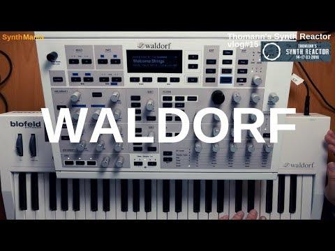 Thomann's Synth Reactor vlog#15 - Waldorf #TSR19