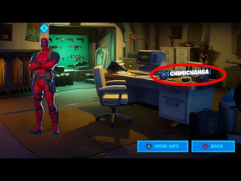 FIND DEADPOOL'S MILK CARTON & CHIMICHANGAS AROUND HQ (FORTNITE DEADPOOL CHALLENGES WEEK 2)