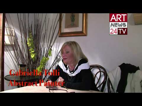 FAMOUS ARTIST ABSTRACT PAINTINGS: Gabriella Tolli and History of Abstract Art