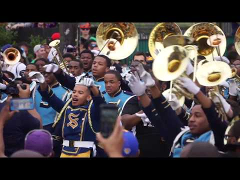 For HBCU marching bands, it's all 'about the showmanship'
