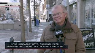 Is the mandatory hotel quarantine for international travellers the right approach? | Outburst