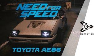 Need For Speed : Toyota AE86 ตำนานรถส่งเต้าหู้ | ᵈᵏˢ⋅ᶦᶰ⋅ᵗʰ