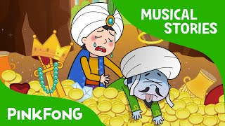 Ali Baba and the Forty Thieves Fairy Tales Musical PINKFONG Story Time for Children