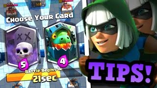 7 Tips to DOMINATE Draft Challenges & How to Use BANDIT in Clash Royale