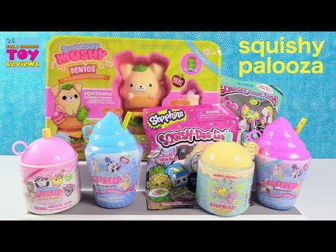 Smooshy Mushy Series 2 Squish-Dee-Lish Shopkins Squishy Toy Review | PSToyReviews