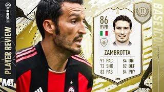 ICON SWAPS ZAMBROTTA WORTH IT?! | 86 ZAMBROTTA PLAYER REVIEW | FIFA 20 Ultimate Team