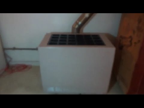 gas space heater replacement testo 320