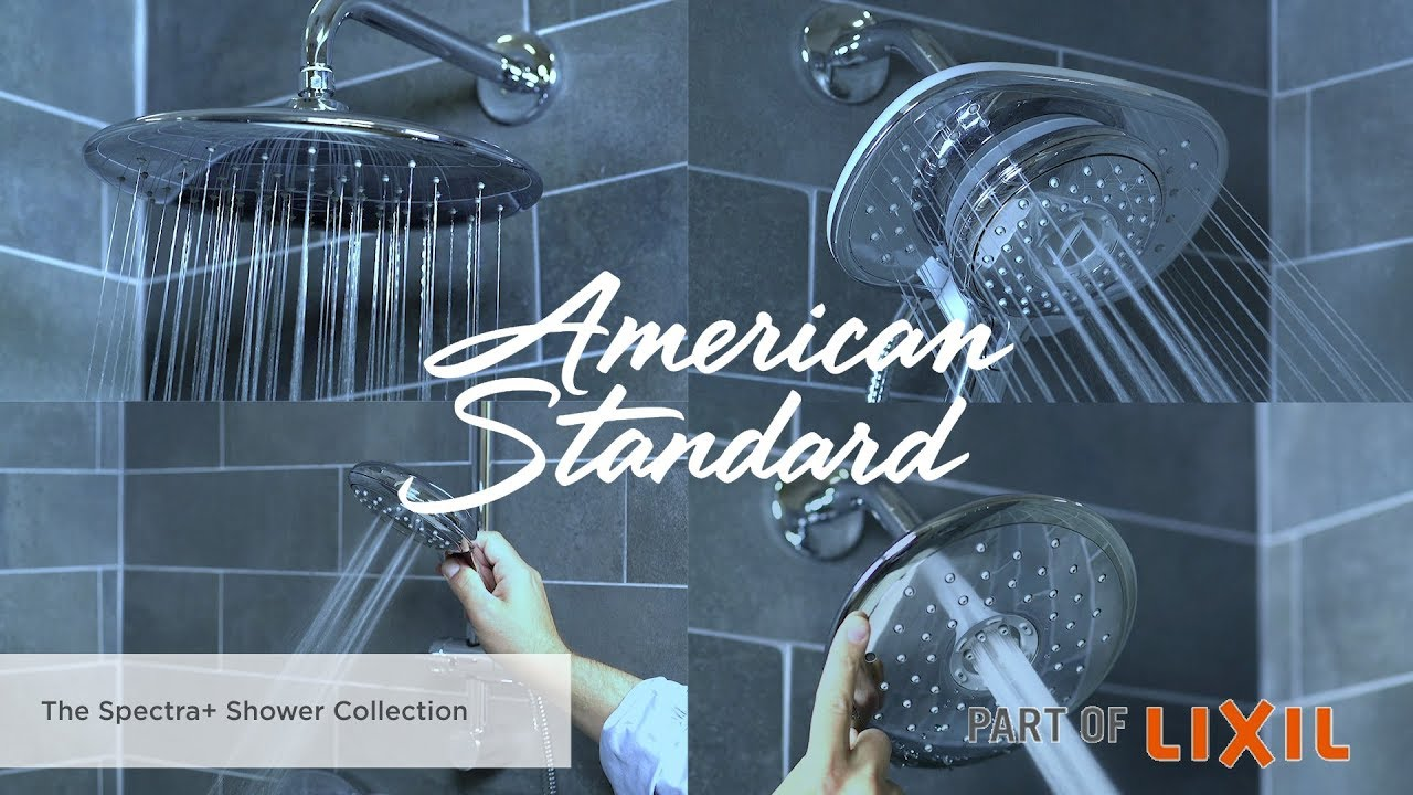 Introducing the Spectra+ Shower Collection by American Standard ...