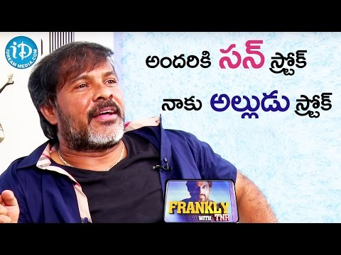 Chota K Naidu About Sundeep Kishan || Frankly With TNR || Talking Movies with iDream