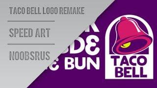 Taco Bell Logo Remake :: Speed Art :: NoobsRus