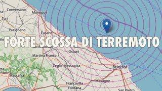 SCOSSA DI TERREMOTO IN ITALIA OGGI: PAURA TRA LA GENTE