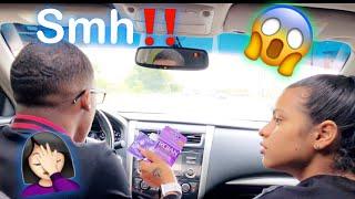 FOUND C.0.N.D.0.M.S IN BOYFRIEND CAR PRANK!!!!