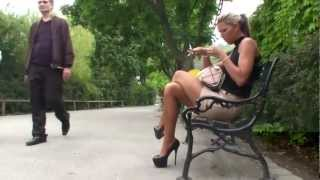 Repeat youtube video PUBLIC ZOO VISIT IN HIGH HEELS & SECRETARY OUTFIT