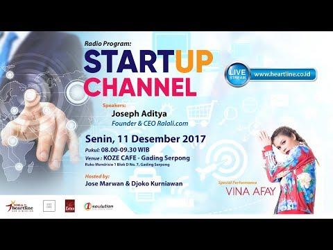 VINA AFAY on START UP CHANNEL 11 Desember 2017 [Part 1 of 4]