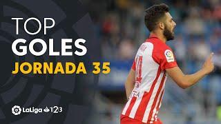 Todos los goles de la Jornada 35 de LaLiga 1 2 3 2018/2019