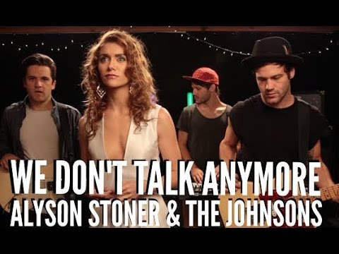CHARLIE PUTH feat. SELENA GOMEZ - We Don't Talk Anymore  (Alyson Stoner feat. The Johnsons)