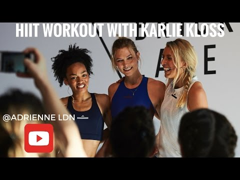 ADIDAS WORKOUT | PHOTOSHOOT WITH KARLIE KLOSS thumbnail