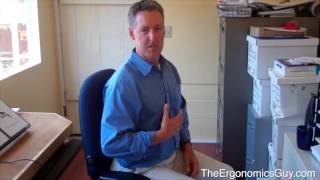 The Ergonomics Guy - Sit Straight and Work Right - Proper Chair Ergo