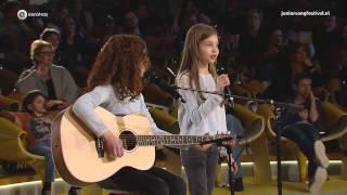 Carlotta en Lily - Ik Blijf Bij Jou | TV-auditie Junior Songfestival 2015