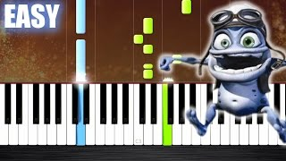 Crazy Frog - Axel F - EASY Piano Tutorial by PlutaX