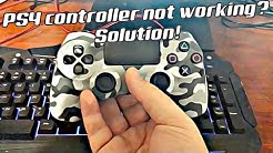PS4 controller not working? Solution!