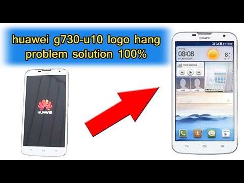 huawei g730-u10 logo hang problem solution 100%