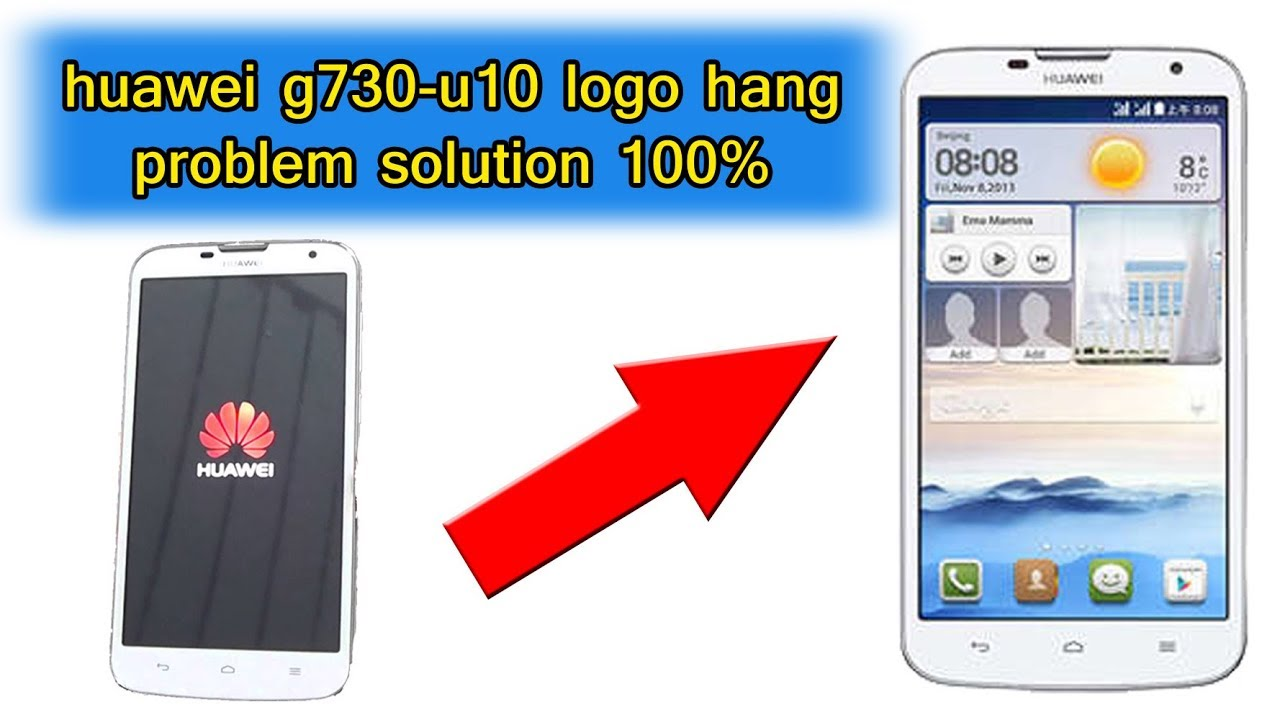Huawei Ascend G730 U10 Flash Or Upgrade With MMC Card