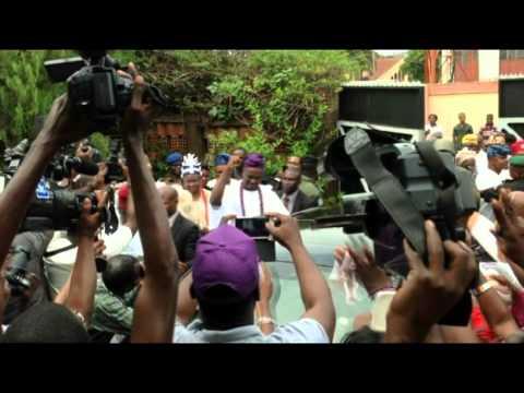 Ooni Ogunwusi's arrival in Ibadan