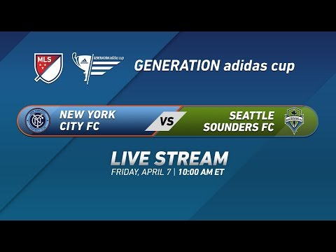 New York City FC vs. Seattle Sounders | 2017 Generation adid