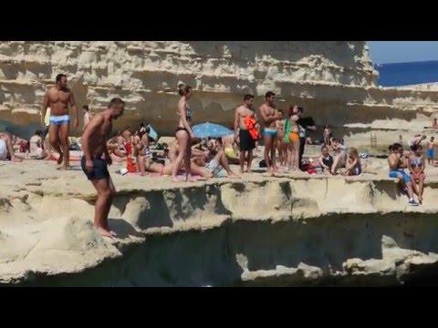 Malta—Marsaxlokk Fish Market & St. Peter's Pool