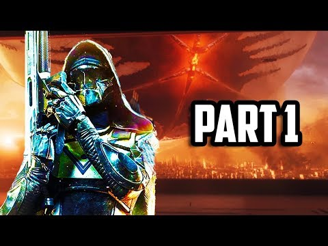 DESTINY 2 Gameplay Walkthrough Part 1 - FULL GAME NEW MISSION 1+ HOUR OF CAMPAIGN! (PS4 PRO 60FPS)
