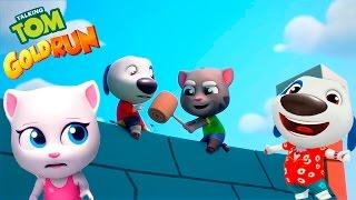 КОТ ТОМ БЕГ ЗА ЗОЛОТОМ #85 ГАВАЙСКИЙ ХЭНК vs ГОВОРЯЩАЯ КОШКА АНДЖЕЛА - игры мультики для детей