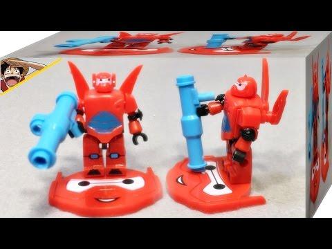 빅히어로6 베이맥스 Sltoys 레고 호환 크레오 디즈니 미니피규어 리뷰 Lego kreo Big Hero 6 baymax mini figures
