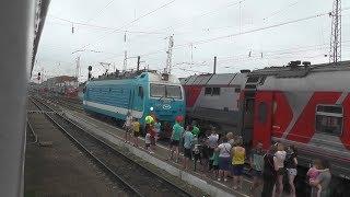 Богоявленск — Мичуринск-Уральский из окна поезда