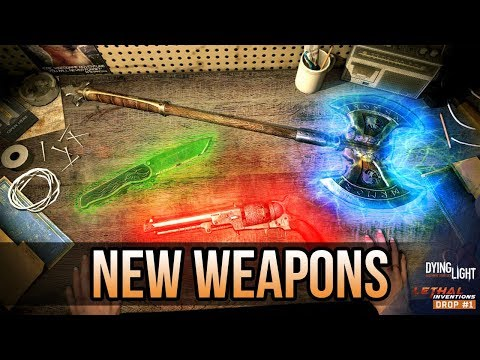 How to get the NEW GLOWING WEAPONS in Content Drop #1 (Dying Light DLC)