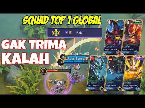 download BALAS DENDAM !! SQUAD TOP 1 GLOBAL(No.1 Dunia) GAK TRIMA KALAH DARI SQUAD INI, LIAT PART 1 NYA